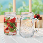 Bridal Glass 13 Cases 156 Jars Mason County Fair Drinking Glasses With Handles