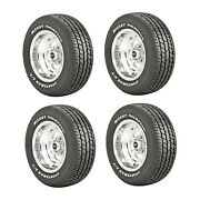 Mickey Thompson 90000000181 4 Set Sportsman S/t Radial P235/60r15 Street Tires