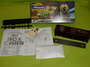 H.o. Scale Train Athearn Trains Tuscan Red / 17057 40and039 Boxcar Kit Unassembled