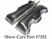 1963, 1964 409 Chrome Valve Covers Chevrolet Impala Ss Bel Air With Drippers