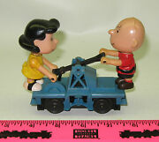 Lionel 18413 Charlie Brown And Lucy Handcar