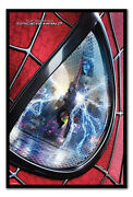 Framed The Amazing Spiderman 2 Eye Poster Ready To Hang New