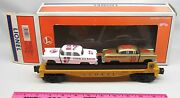 Lionel 6-19423 6424 Lionel Circle L Racing Flatcar With Stock Cars