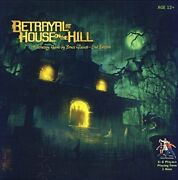 New Betrayal At House On The Hill 2nd Edition Free Shipping