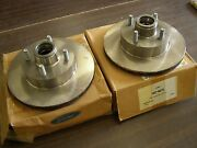 Nos Oem Ford 1982 - 1993 Mustang Brake Rotors 4and6 Cylinder 1992 1991 1990 1989