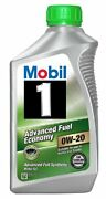 New Mobil 1 96995 0w 20 Synthetic Motor Oil 1 Quart Pack Of 6 Free Shipping