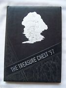 1957 Madison Heights High School Yearbook Anderson Indiana Treasure Chest
