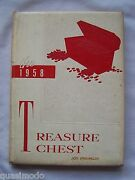1958 Madison Heights High School Yearbook Anderson Indiana Treasure Chest