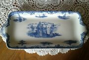 Wedgwood Hague Platter Antique Made In England Handmade Ceramic Serving Tray