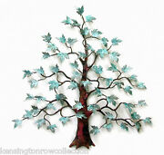 Wall Art - Magnificent Maple Tree Metal Wall Sculpture - Free Shipping