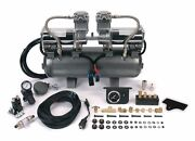 150 Psi Hi-speed 2 On 2and039s Two 400cand039s On 2 Gal Tank No Crossmember 30016 Viair