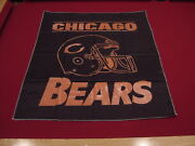 Beautiful Chicago Bears Northwest Airlines 35 X 29 Banner, Extremely Rare