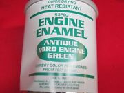 1927-41 Ford Correct Green Engine Enamel Paint Quart Can Fast Dry Rsp6q