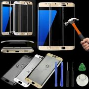 For Samsung Galaxy S6/s7/s8 Edge/+ Full Cover Tempered Glass Screen Protector 3d