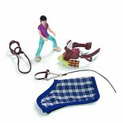 New In Box Schleich 42093 Pony Riding / Camping Accessories Set - Retired