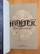 Signed By Mercedes Lackey - Hunter - Hardcover Book 1st/1st + Pic
