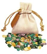 Success Power Pouch Healing Crystals Stones Set Tumbled Natural Gemstones