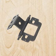 Furniture Cabinet Hinges Inset Brushed Oil Rubbed Bronze 3/4 X 3/4 Hx158