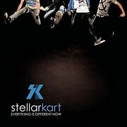 Everything Is Different Now By Stellar Kart On Audio Cd Album 2010 Brand New