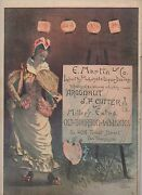 1884 Color Advertisement For J.f. Cutter Whiskey San Francisco Sf Newsletter