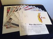 Rare Signed Alex Ross Beatles Yellow Submarine Prints W/ Exclusive 8th Print Pic