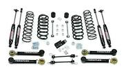 Teraflex 1456332 Front/rear 3andrdquo Suspension System W/ 4 Flexarms And Shock For Tj/lj