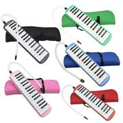 New 32 /37 Piano Keys Melodica With Carrying Bag Black Pink Blue Red Green