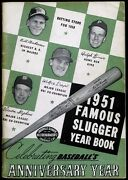 Famous Slugger Yearbook 1951 - Vern Stephens Walt Dropo Ralph Kiner Cover