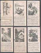 1930's Unknown Wrappers Canadian Canoe Travel Canadian Chewing Gum Lot Of 27