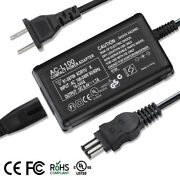 Ac Power Adapter Chargerandus Cable For Sony Handycam Ccd-trv43 Dcr-trv260 Hdr-fx7