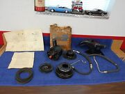 1966-67 Ford Fairlane Falcon Comet 289ci Power Steering Pump Kit Nos Ford 816