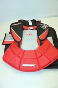 Dr Sonic X3 Senior X9-series Ice Hockeygoalie Chest And Arm Pads Size S - New 2