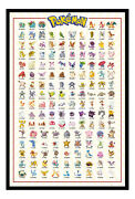 Pokemon Go Kanto Catch Them All 151 Magnetic Notice Board Includes Magnets
