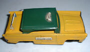 Toy Tin Taxi Friction -rare - Made In Japan-yellow Cab