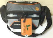 Field And Stream Fishing Tackle Carry Bag With 3-3500 Utility Storage Boxes Trays