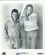 1986 1980s Soft Rock Duo Air Supply Russell Hitchock Graham Russell Press Photo