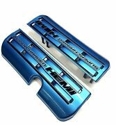 Painted Engine Fuel Rail Covers For 15-21 Challenger Charger Scat Pack Srt