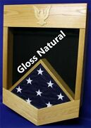 Navy Petty Officer First Class Po1 Award Shadow Box Medal Display Case