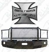 Iron Cross Hd Grille Guard Front Bumper For 2012-2015 Toyota Tacoma 24-705-12