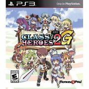 Class Of Heroes 2g - Playstation 3 Ps3 [d Variant Numbered Dungeon Crawl Jrpg]