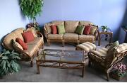 Replacement Cushions For Deep-seating Wicker/rattan Furniture Full Set 12 Pcs