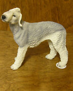 Castagna Dog Figurines 115g Bedlington Terrier, Made In Italy, New/box 4.5