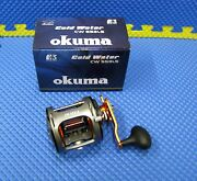 Okuma High-speed Cold Water Cw-553ls Levelwind Trolling Reel New In Box