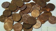 Lot Of 25 - 1 Ounce - Copper Bullion Round Medals -- 25 Ozs Of Copper