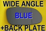 Mercedes W168 A-190 1997-2004 Wing Mirror Glass Blue Wide Angle Back
