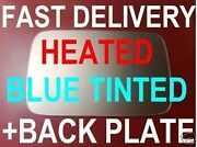Bmw Series 3 E36 1991-1999 Door Wing Mirror Glass Blue Heat +back Right Or Left