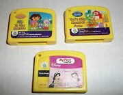 Leapfrog My First Leap Pad Game Lot 5 - 3 - To Rescue Tads Silly Farm Princess