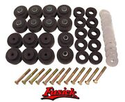 1968-1972 Olds Cutlass 442 50 Piece Rubber Body Mount And Bolt Set Oldsmobile