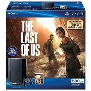 Sony Playstation 3 500gb Console - The Last Of Us Bundle - Black [ps3 System]