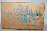 1979 Fisher Price Little People Lift And Load Lumber Yard 944 Mail Away Box